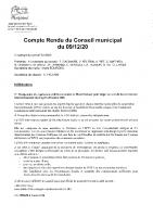 CR CM 09 decembre 2020