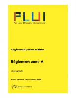 Règlement Zone A (1)